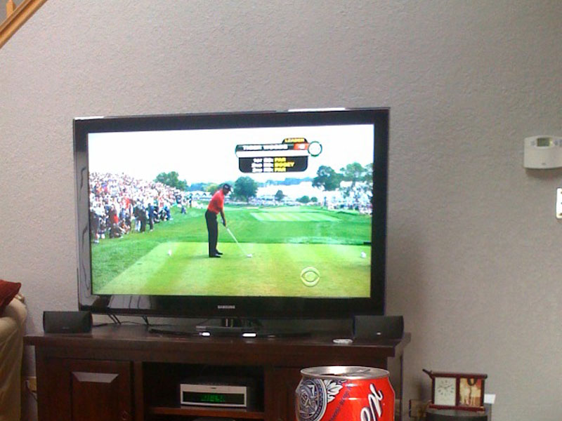 Golf (watching on Tv)