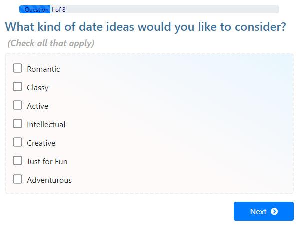 Date Idea Generator